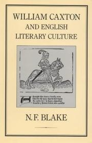 Cover of: William Caxton and English Literary Culture