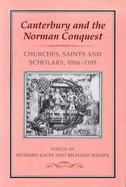 Canterbury and the Norman Conquest by