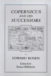 Cover of: Copernicus and his successors