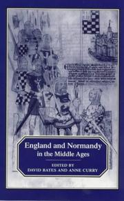 Cover of: England and Normandy in the Middle Ages |