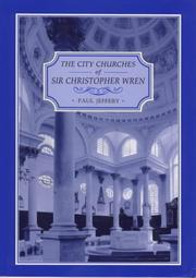 Cover of: The city churches of Sir Christopher Wren