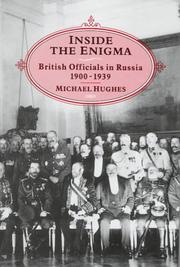 Cover of: Inside the enigma