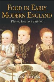 Cover of: Food in Early Modern England