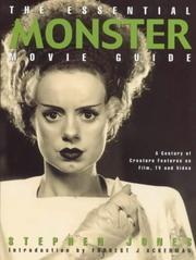 Cover of: The essential monster movie guide