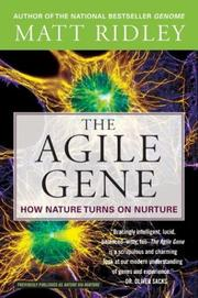 Cover of: The Agile Gene | Matt Ridley