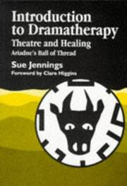 Cover of: Introduction to Dramatherapy
