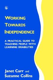 Cover of: Working towards independence