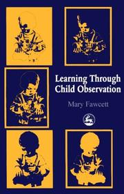 Cover of: Learning through child observation