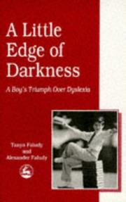 Cover of: A little edge of darkness | Tanya Faludy
