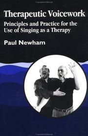 Cover of: Therapeutic voicework
