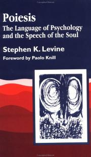 Cover of: Poiesis | Stephen K. Levine