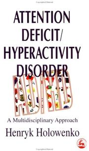 Cover of: Attention deficit/hyperactivity disorder