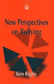 Cover of: New Perspectives on Bullying | Ken Rigby