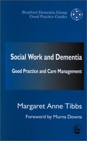 Cover of: Social Work and Dementia