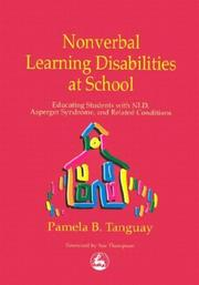 Cover of: Nonverbal Learning Disabilities at School | Pamela B. Tanguay