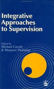 Cover of: Integrative approaches to supervision |