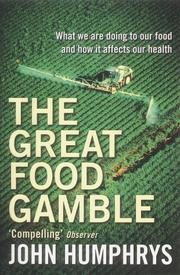 Cover of: The Great Food Gamble
