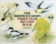 Cover of: Birdwatcher's Three-Year Record Book