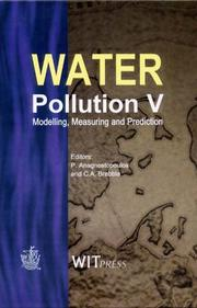 Cover of: Water pollution V |