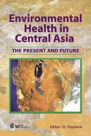 Cover of: Environmental Health in Central Asia  | Dilorom Fayzieva