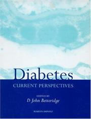 Cover of: Diabetes |