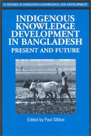 Cover of: Indigenous Knowledge Development in Bangladesh