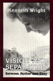 Cover of: Vision and separation | Kenneth Wright