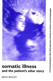 Cover of: Somatic illness and the patient's other story