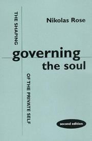 Cover of: Governing the Soul | Nikolas S. Rose