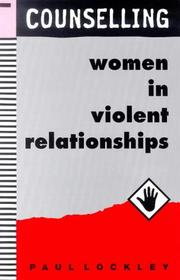 Cover of: Counselling women in violent relationships