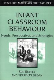 Cover of: Infant classroom behaviour