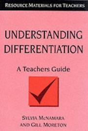 Cover of: Understanding differentiation