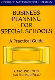 Cover of: Business planning for special schools