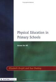 Cover of: Physical education in primary schools | Elizabeth Knight