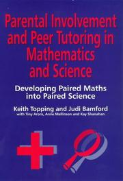 Parental involvement and peer tutoring in mathematics and science