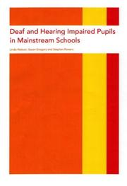 Cover of: Deaf and hearing impaired pupils in mainstream schools