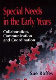 Cover of: Special needs in the early years