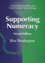 Cover of: Supporting Numeacy