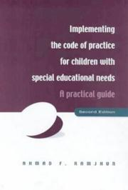 Cover of: Implementing the code of practice for children with special educational needs