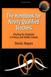 Cover of: Handbook for Newly Qualified Teachers | Hayes
