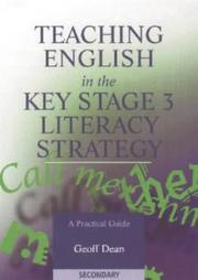 Cover of: Teaching English in the Key Stage 3 Literacy Strategy