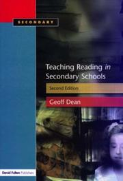 Cover of: Teaching Reading in the Secondary Schools