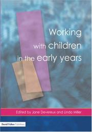 Cover of: Working with Children in the Early Years | Jane Devereux