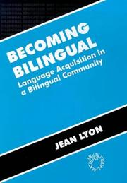 Cover of: Becoming bilingual