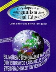 Cover of: Encyclopedia of bilingualism and bilingual education