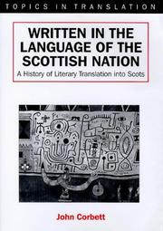Cover of: Written in the language of the Scottish Nation
