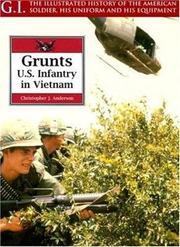Cover of: Grunts | Christopher J. Anderson