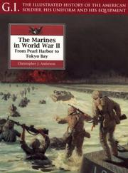 Cover of: The Marines in World War II