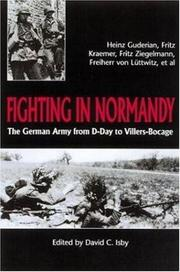 Cover of: Fighting in Normandy |