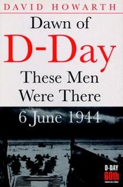 Cover of: Dawn of D-day